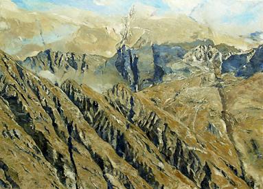 Großes Bergbild II