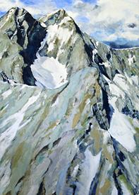 Großes Bergbild III