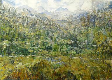 Großes Bergbild I