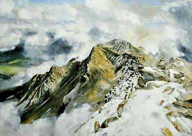 Grosses Bergbild IV